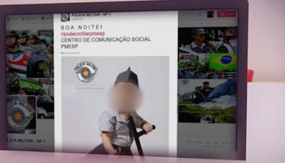 Direitos Humanos quer processar PM de São Paulo por divulgar foto de Bebê fardada