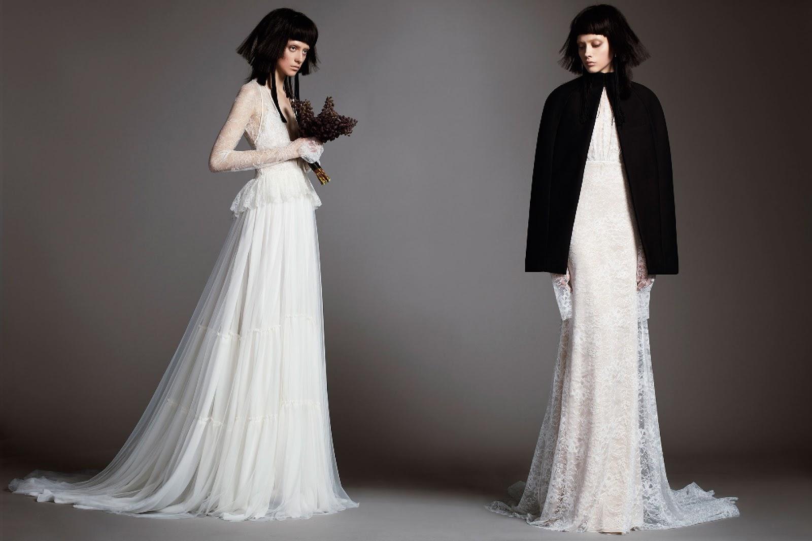 a6f4a5179cfdc Un modo moderno di vestire la sposa  ecco cosa cerca Carolina Herrera nella  sua collezione Bridal 2018. La soluzione sono abiti ipermoderni