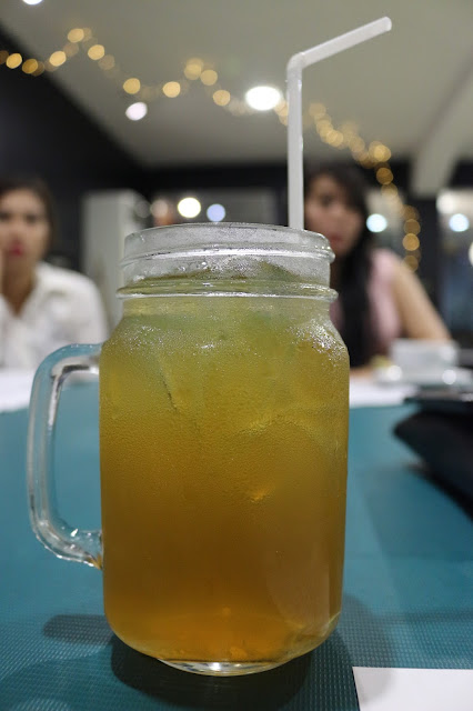 Ice Lemon Tea ala Clover Cafe Pontianak