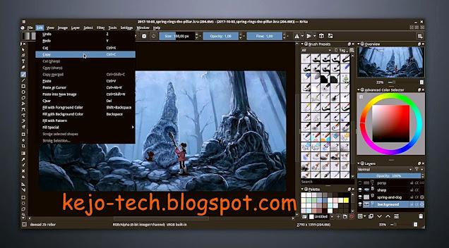 تحميل برنامج krita للرسم الرقمي و تصميم vector