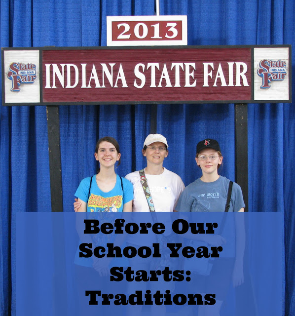 Homeschool 101, Traditions, Indiana State Fair