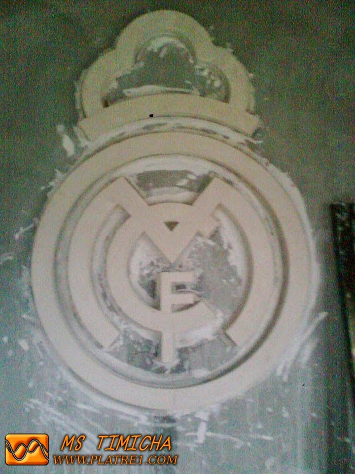 Decoration real madrid platre for Decoration chambre real madrid