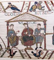 Guillermo I en el Tapiz de Bayeux