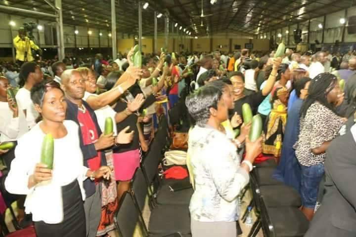 Zimbabwean Pastor Sells 'Anointed' Cucumbers To Members