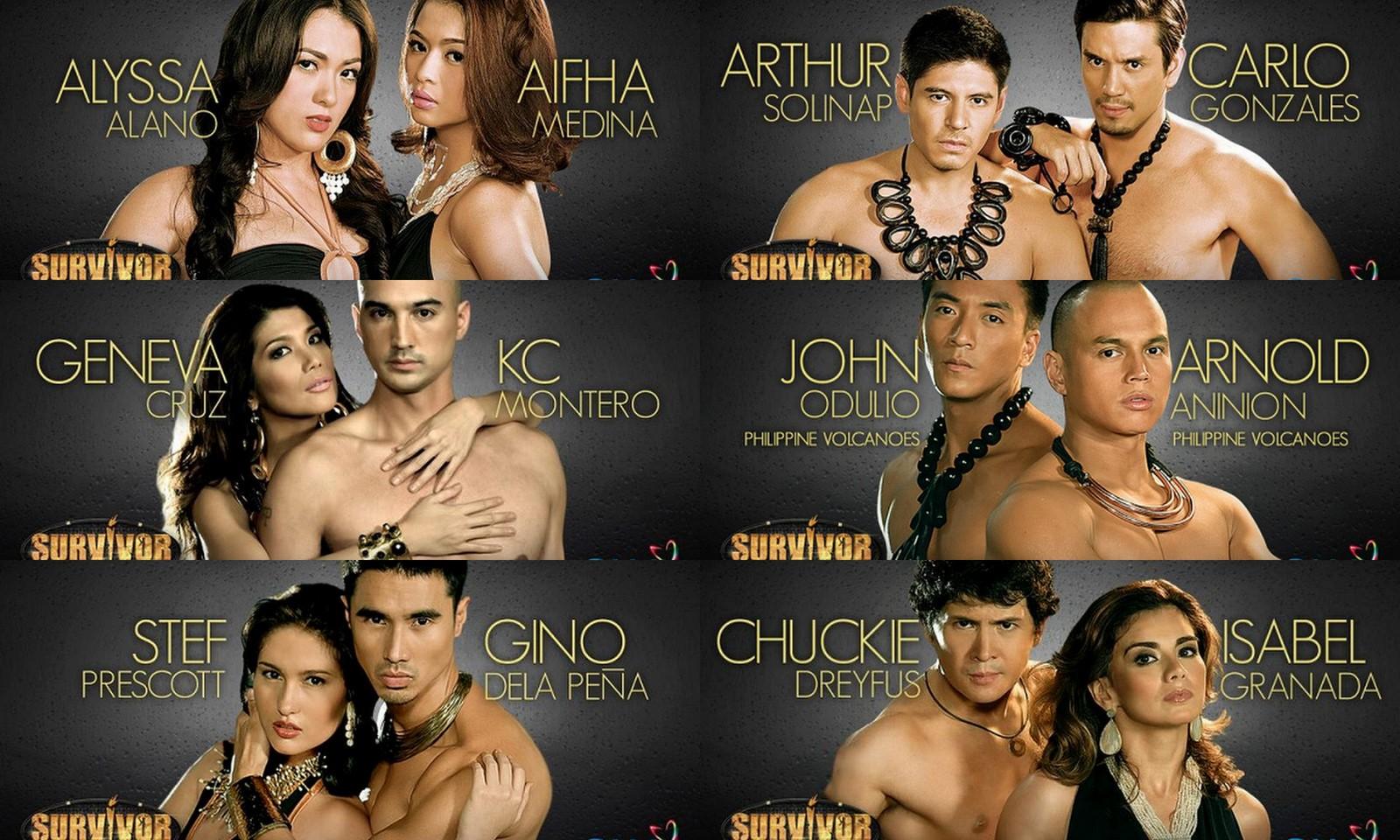 Survivor Philippines Celebrity Doubles Showdown reveals