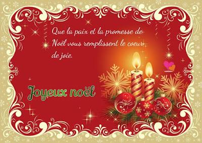 Texte Joyeux Noël : Que la paix et la promesse de Noël