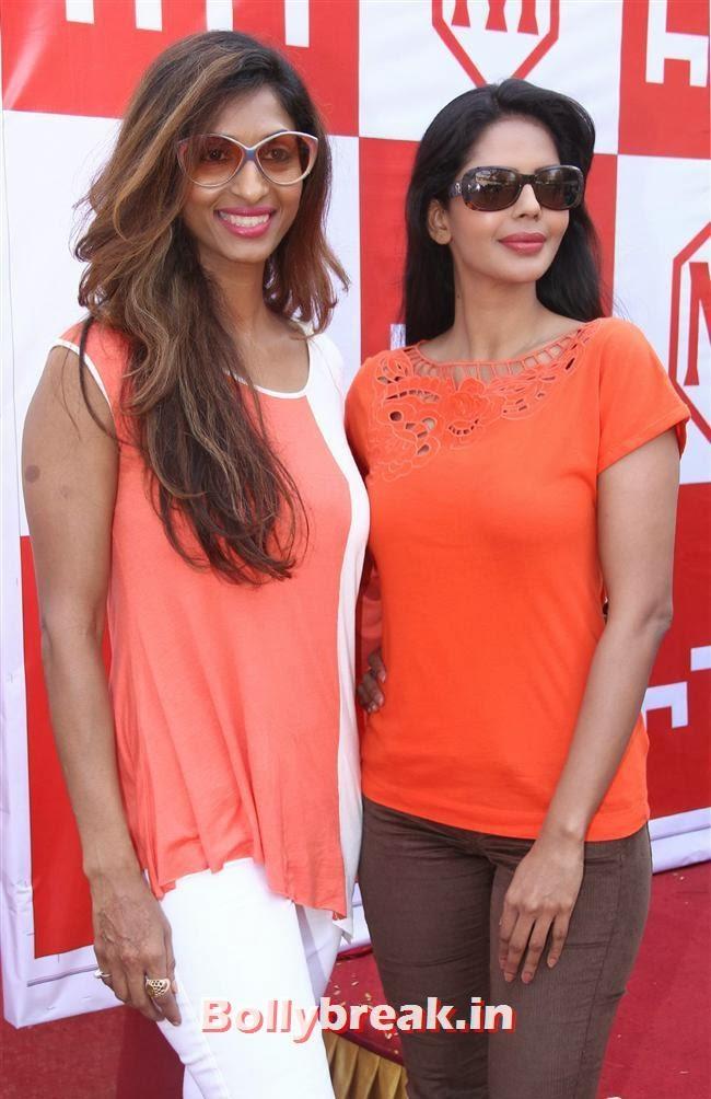 Sandhya Shetty and Bhairavi Goswami
