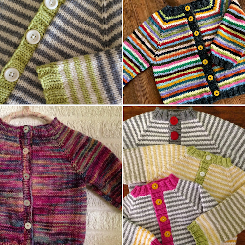 Adorable Baby Cardigan - Free Pattern