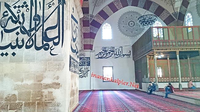 Edirne Eski Camii İç Görünüm