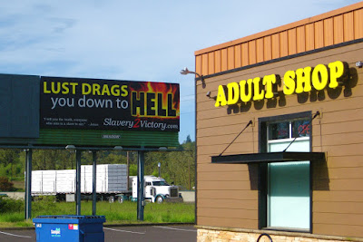 Eugene Sign Haiku Part 3: Lust Drags You Down To Hell