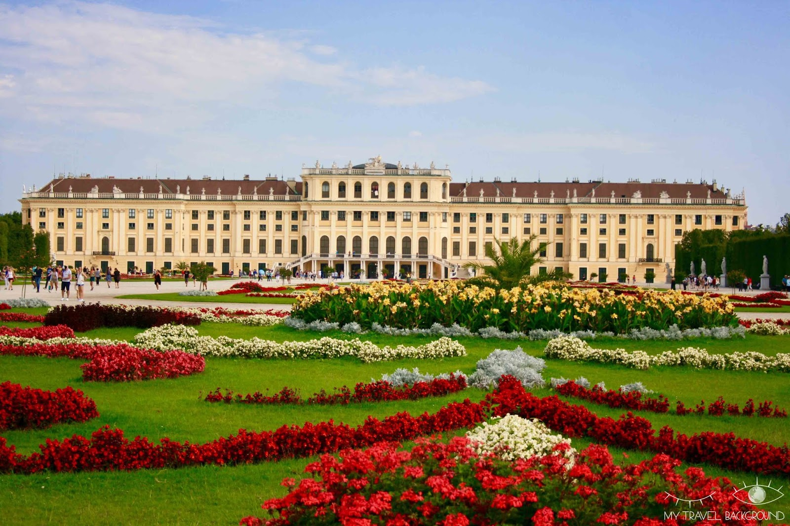 My Travel Background : visiter Vienne, la capitale de l'Autriche, en 3 jours - Le Schloss Schönbrunn