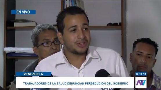 Trabajadores de la salud denuncian presencia de grupos armados en el HCU #16Nov