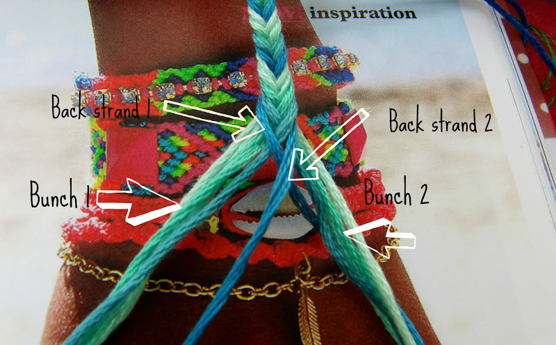 fishtail bracelet tutorial - photo #11
