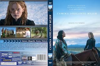 CARATULA Camina Adelante Mujer - Woman Walks Ahead - 2018 - [COVER DVD]