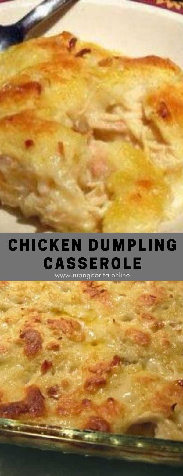 Chicken Dumpling Casserole #maincourse #chicken #dumpling #casserole