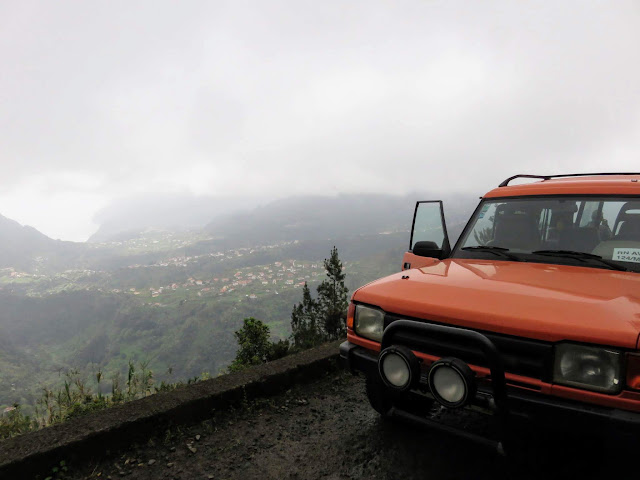 Foggy view with Hit the Road day tours in Funchal Madeira