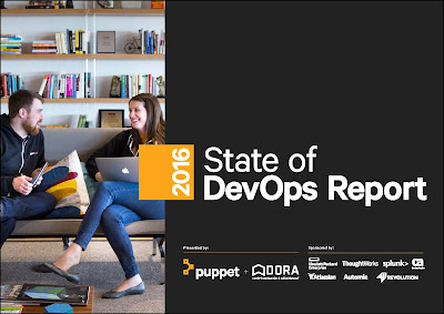 2016 Report on the state of DevOps