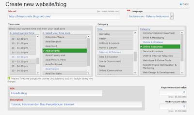 Cara Daftar dan Memasang Code Histats di Blog 8