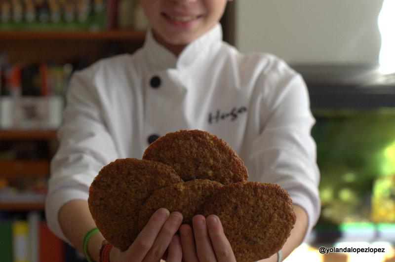 Desayunos saludables y receta de American Cookies