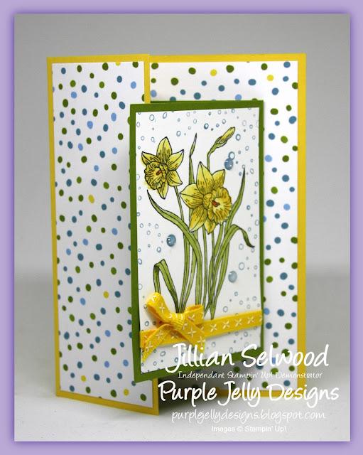 Fancy Fold Card, Sweet Soiree Speciality DSP