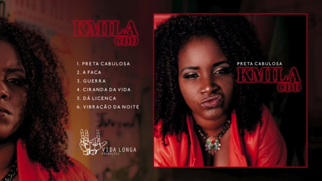"""""""Preta Cabulosa"""", é o primeiro trampo solo da Kmila CDD"""