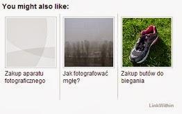 """LinkWithin: Jak zmienić napis """"You might also like"""" na polski?"""