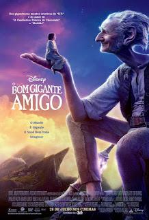 """Poster do filme """"O Bom Gigante Amigo"""""""