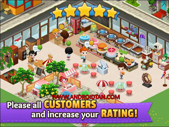 Cafeland World Kitchen Mod Apk Unlimited Money for Android