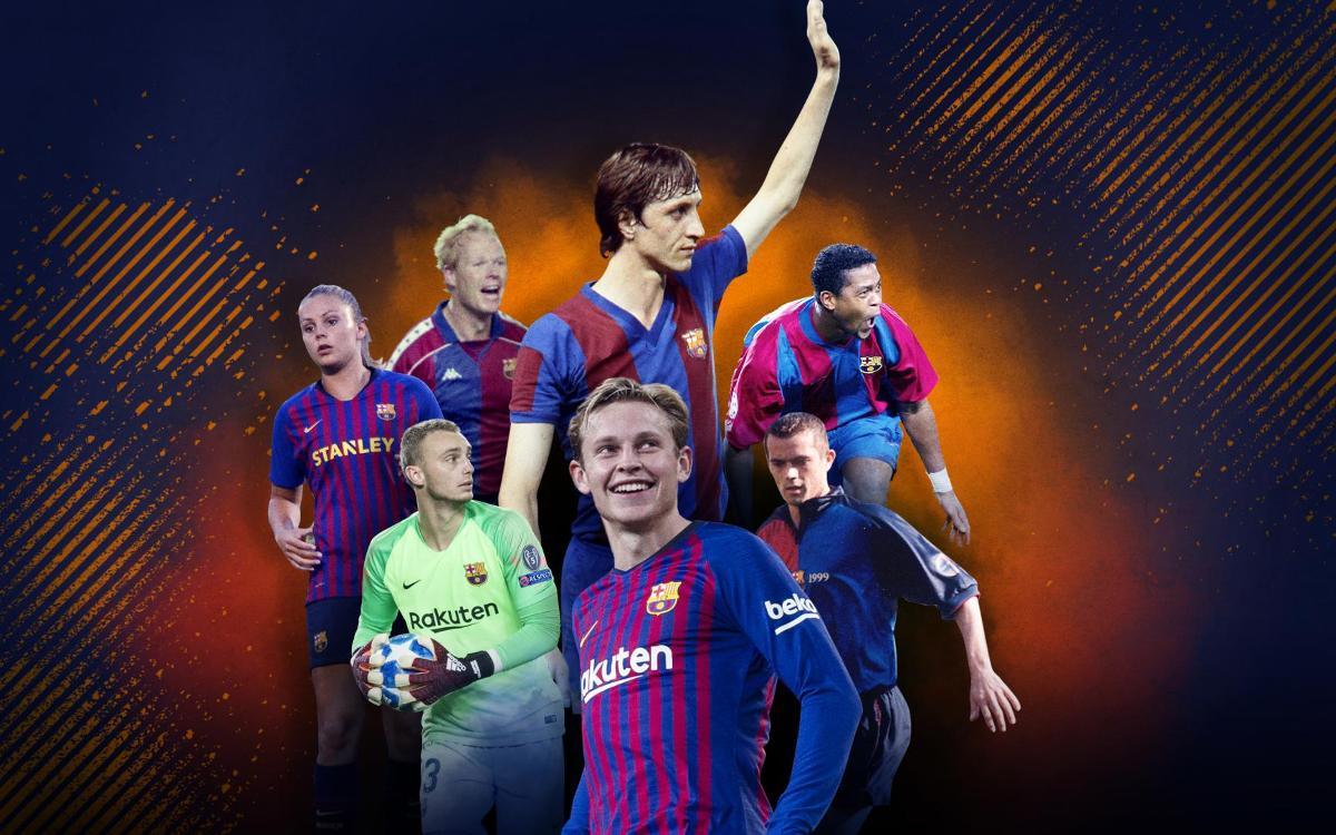 4 Pemain Belanda Yang Pernah Membela Barcelona