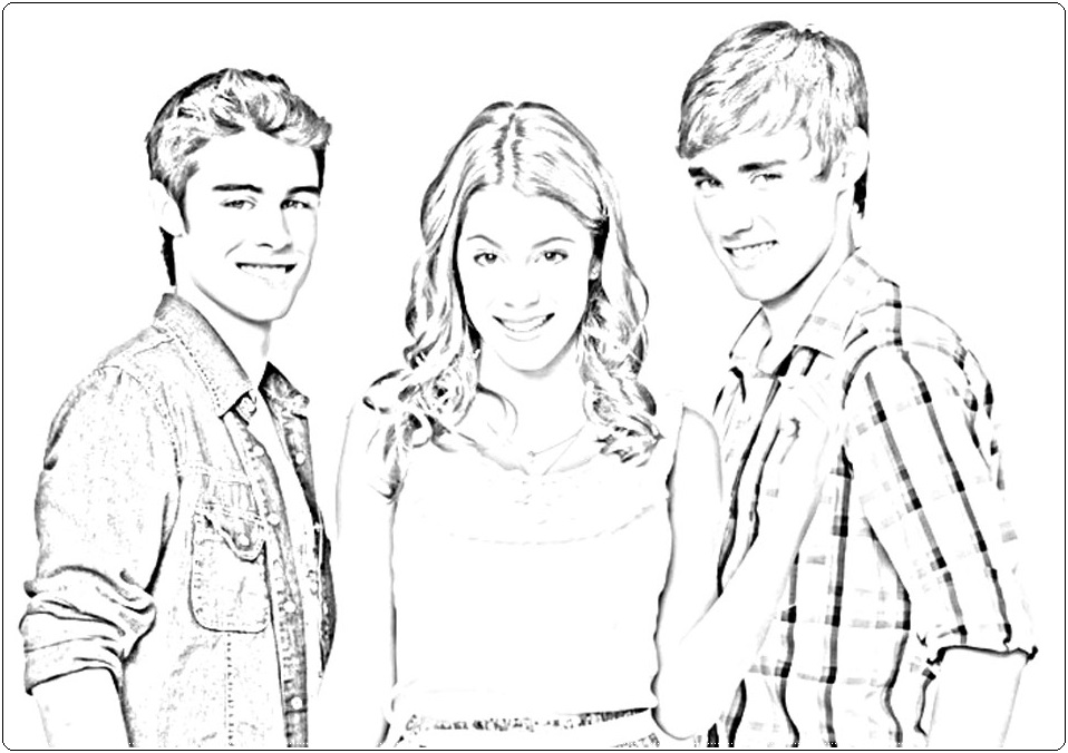 violetta coloring pages - photo#32