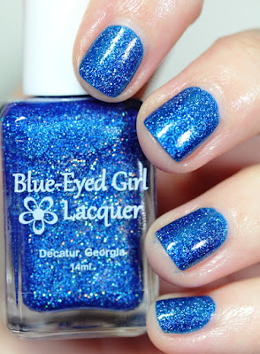 Blue-Eyed Girl Lacquer BEGL Deep Blue Dream