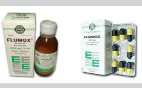 سعر ودواعى إستعمال فلوموكس Flumox كبسولات شراب فيال مضاد حيوي واسع المجال
