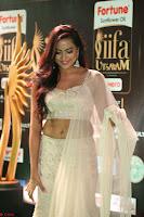 Prajna Actress in backless Cream Choli and transparent saree at IIFA Utsavam Awards 2017 0120.JPG