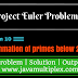 Project Euler | Problem 10 | Summation of primes