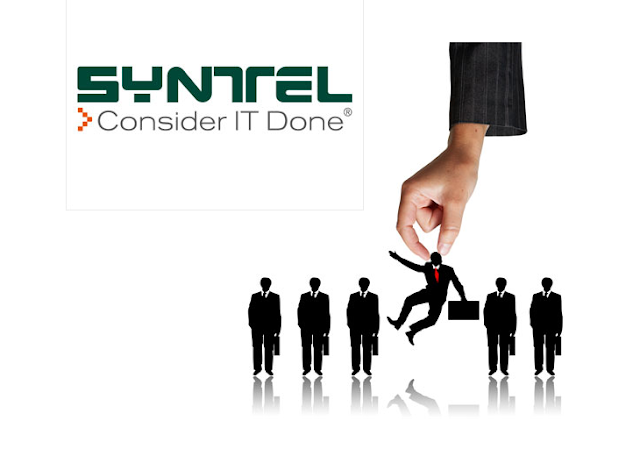 Syntel Walk-In Drive for Freshers/Experienced