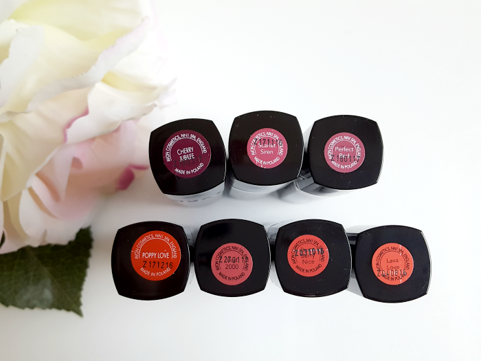 Review: True Colour Perfect Reds Collection Lipsticks alle Farben Lippenstift