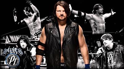 AJ Styles WWE wallpape