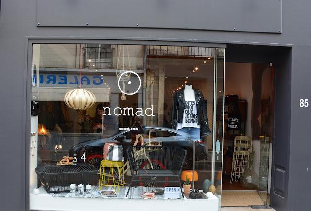 Sois belle pipelette nomad concept store quand le marais s 39 invite tours - Concept store marais ...