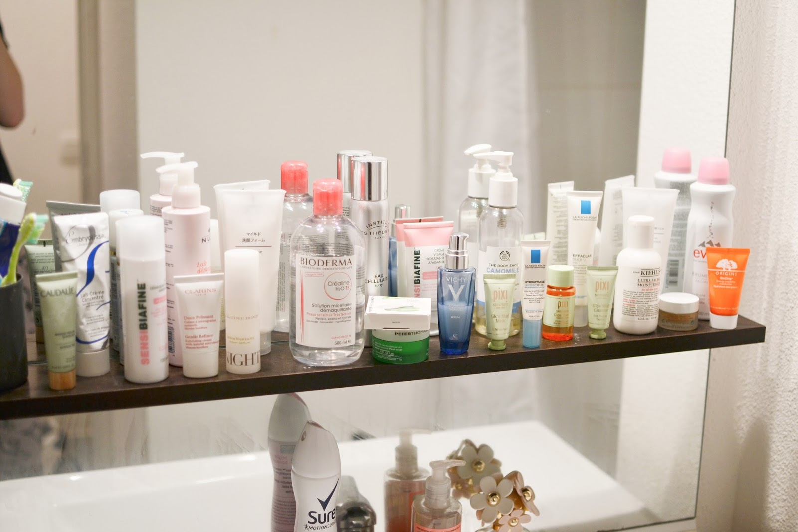 the skincare top shelf
