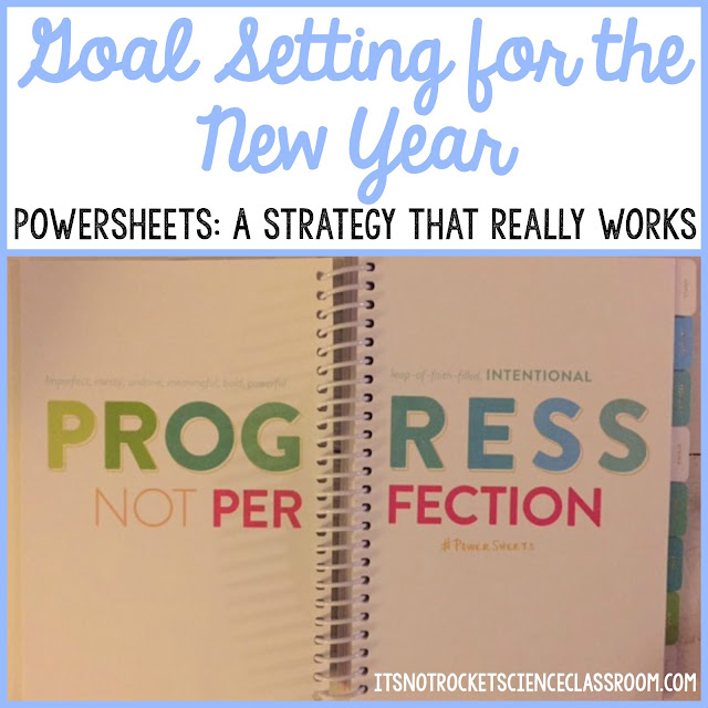 Overwhelmed by all you have to do as a teacher, blogger, mom, wife, and/or business owner?  Looking for direction and motivation as you start 2017?  Read this blog post about how Lara Casey's PowerSheets have transformed my life and how I dream and plan for the year ahead to make it the most successful and intentional yet!