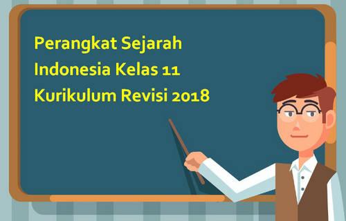 Perangkat Sejarah Indonesia Kelas 11 Kurikulum Revisi 2018