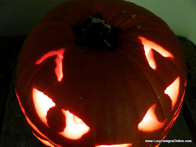 carve a pumpkin with power tools