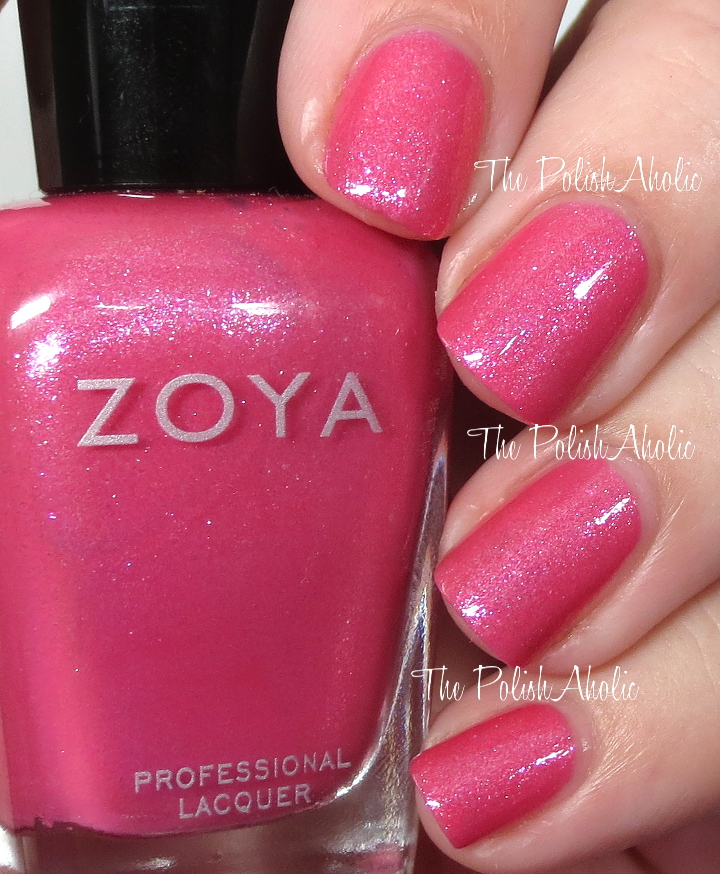 The PolishAholic: Zoya Spring 2016 Petals Collection Swatches & Review