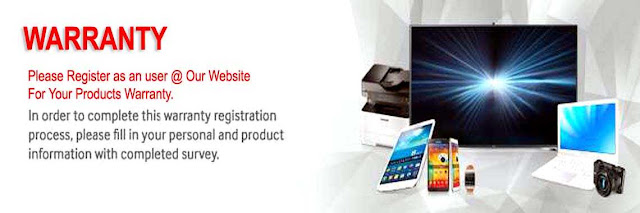 Warranty And Customer Care Service Banner