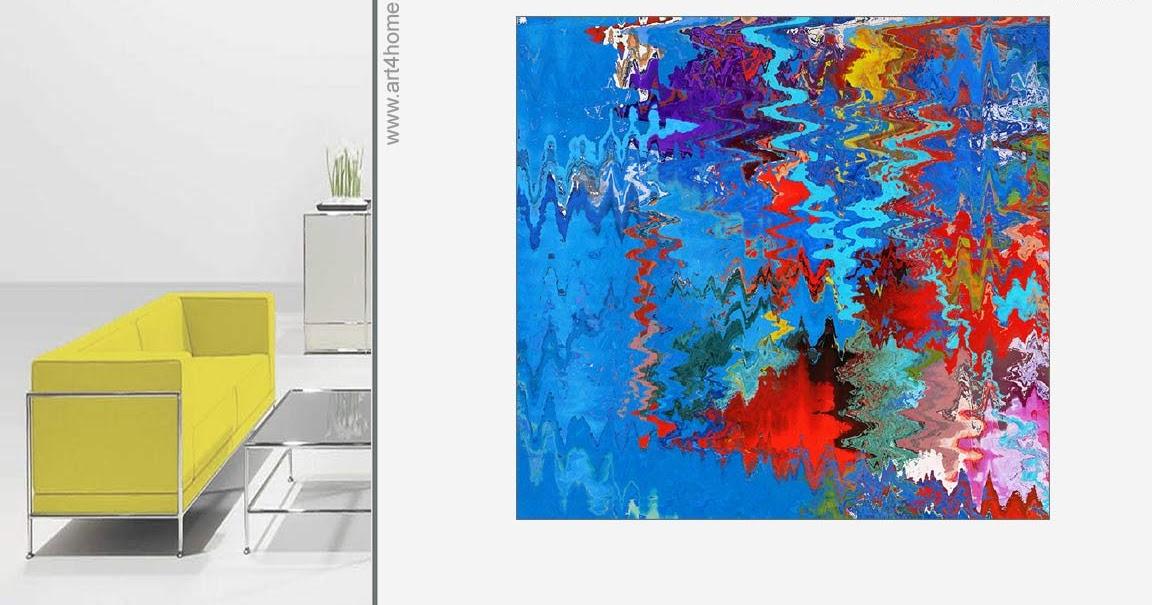 Art sale moderne kunst abstrakte lgem lde gro e for Moderne leinwandbilder