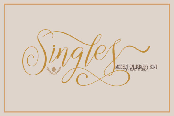 The Singles Font
