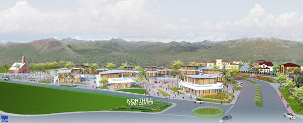 Northill Town Center by Megaworld