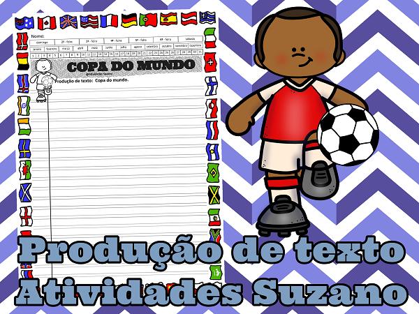 Copa do mundo-escrita- leitura- interpretação- Língua Portuguesa