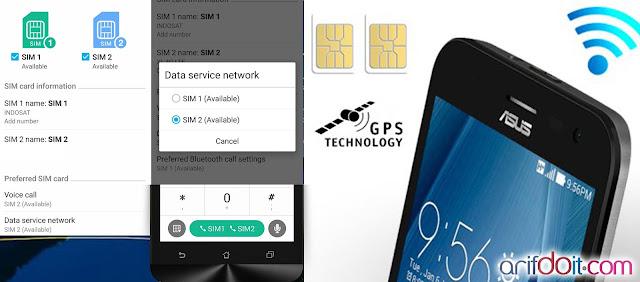 Konektivitas Dual SIM dan 3G yang komplit