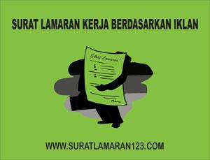 Contoh Surat Lamaran Kerja Berdasarkan Iklan Contoh Surat